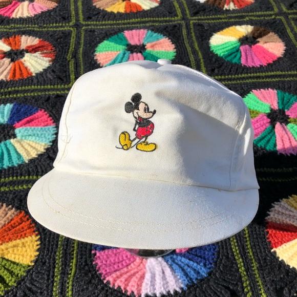 Disney Accessories Vtg Mickey Mouse Hat Poshmark